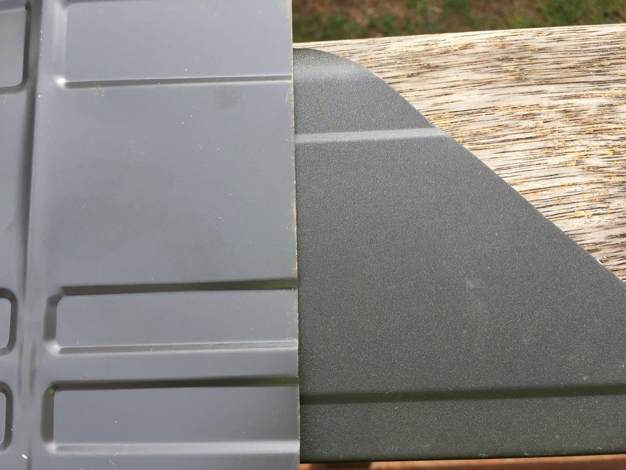 Colour Difference Between Colorbond S Quot Monument Quot And
